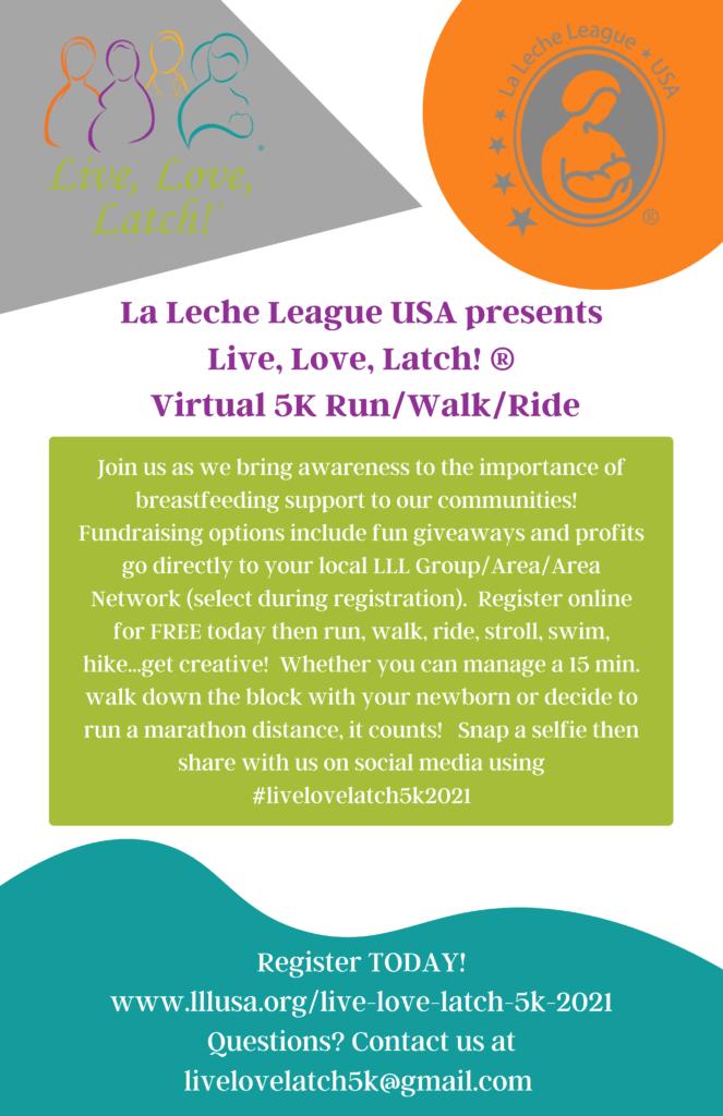 Live Love Latch 5K Flyer